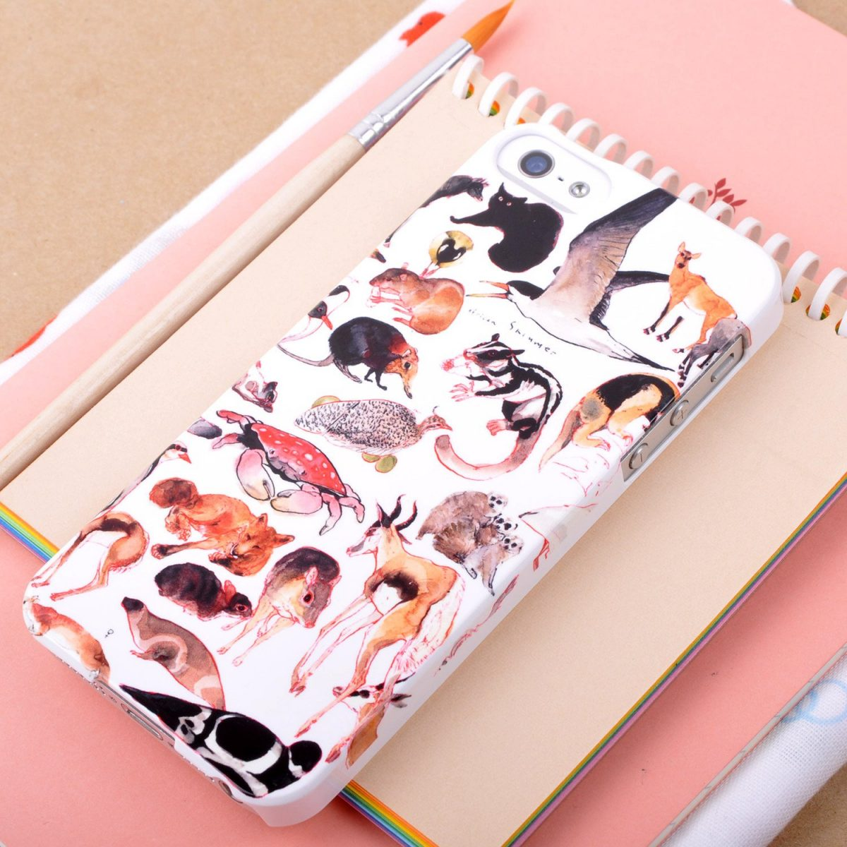 "Mina Milk ""Plenty of Animals"" Phone case"