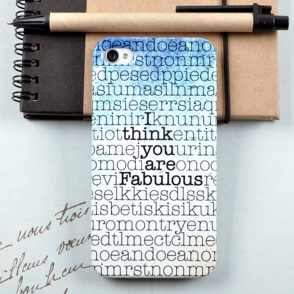 Personalised Hidden Message Phone case