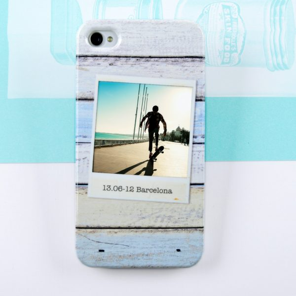 Personalised Wood Photo Phone case