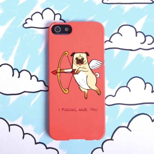 Sparrow Studios 'Pug Love' Phone case