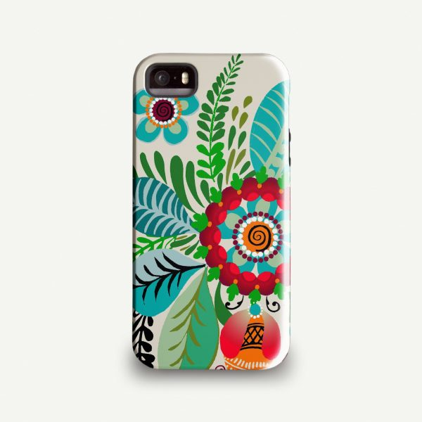 Anja Jane 'Folk Rosemaling' Phone Case
