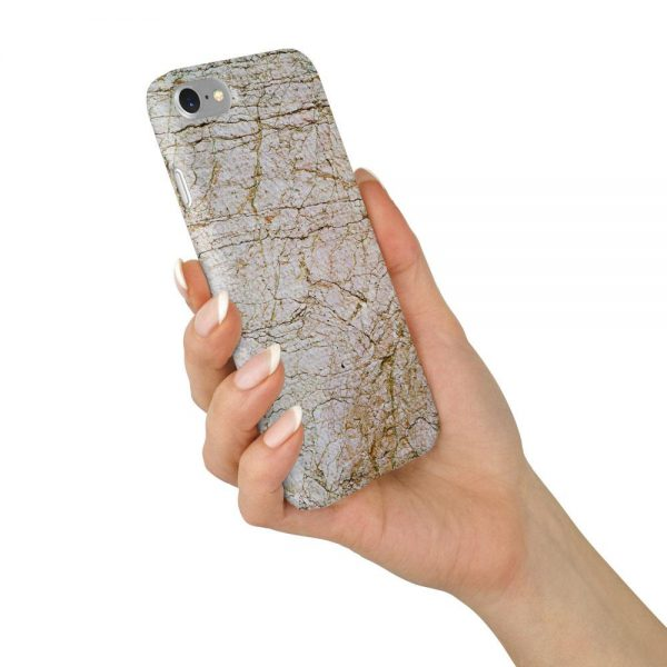 Marble Stone Brown/White Design Case