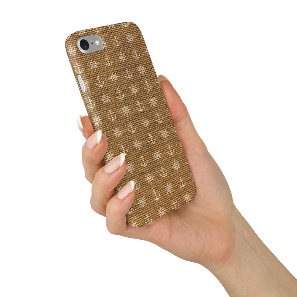 """Anchors & Wheels"" Beach House Collection Phone Case"