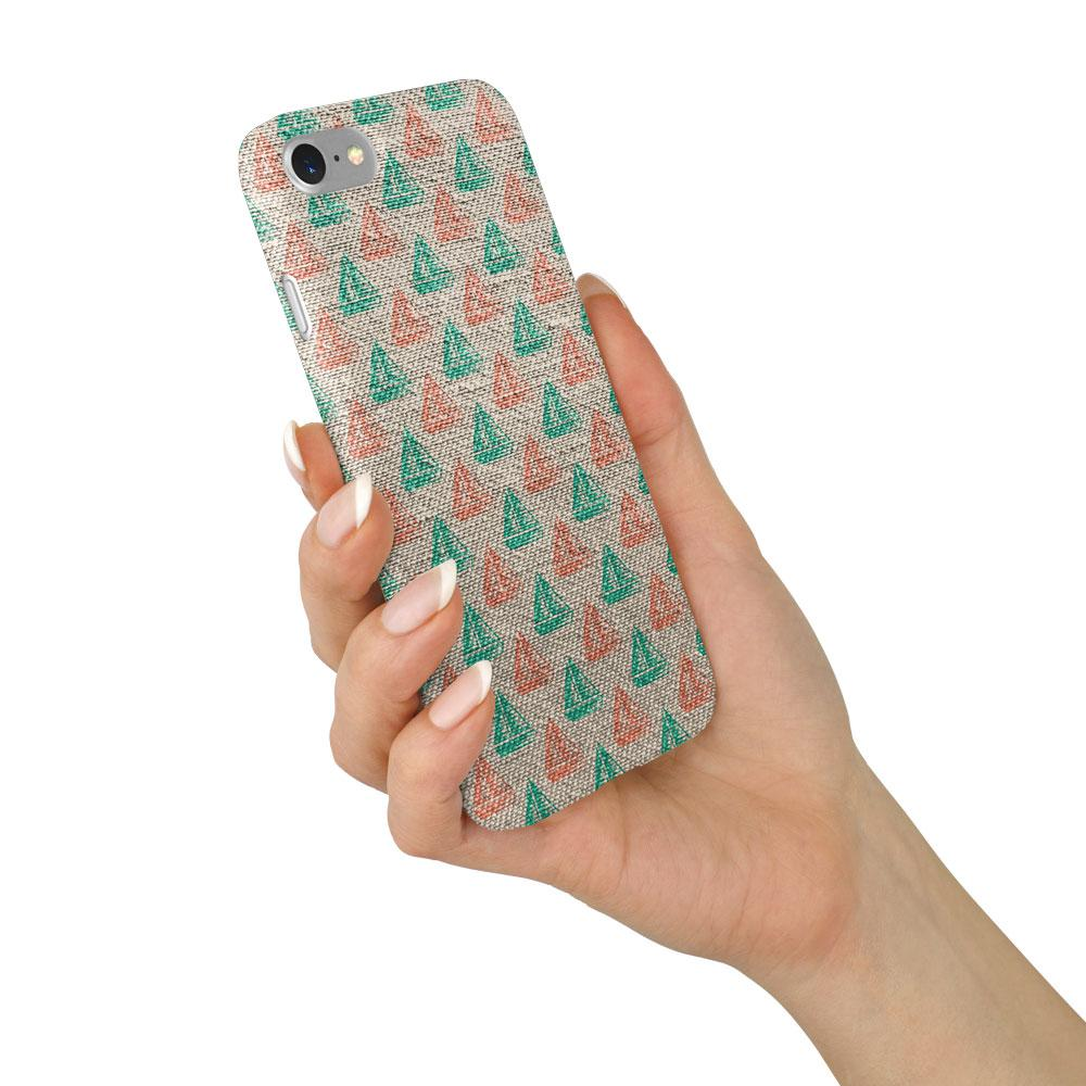 """""""Red Green Sailing"""" Beach House Collection Phone Case"""