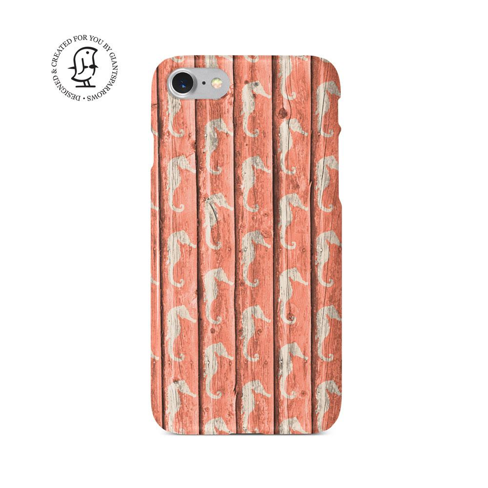 """""""Pink Sea Horse"""" Beach House Collection Phone Case"""