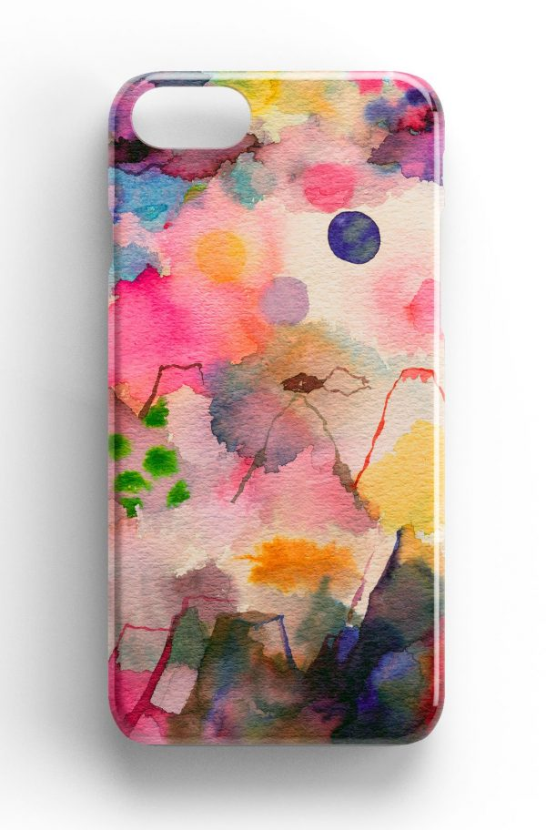Ninola Design Whimsical Mountain Landscape Phone Case