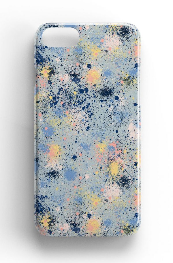Ninola Design Ink Dust Paint Splatter Phone Case