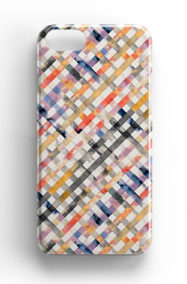 Ninola Design Summer Gingham Watercolour Phone Case