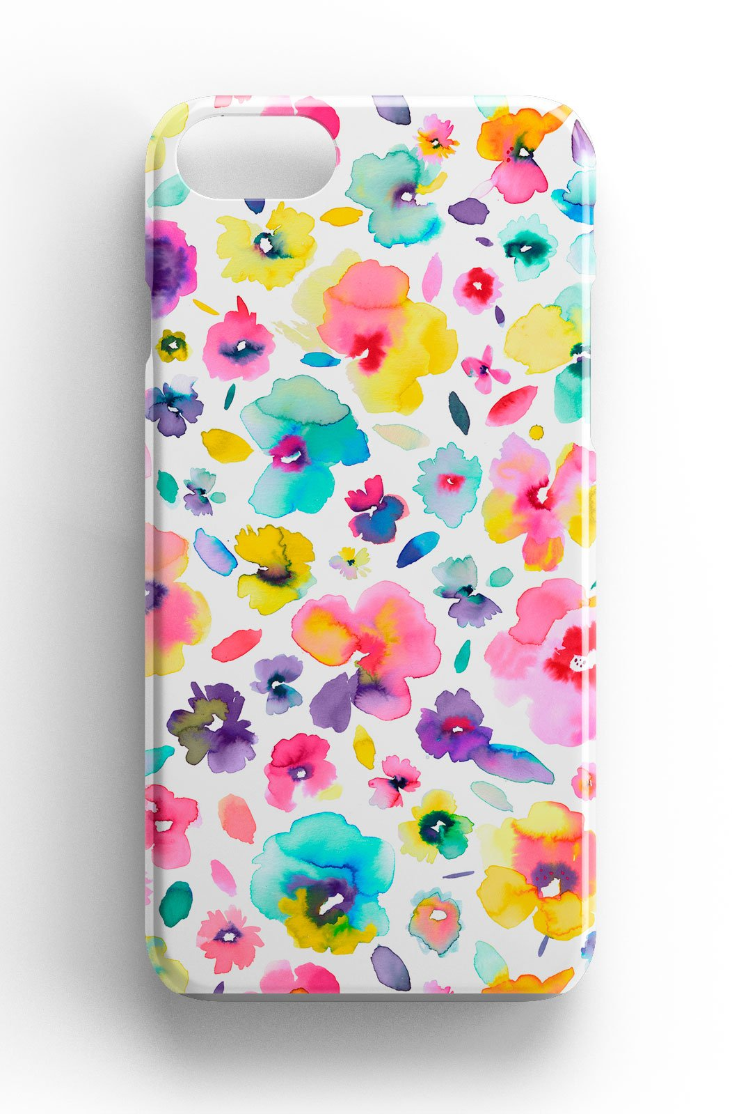 Ninola Design Watercolour Flowers Floral Phone Case