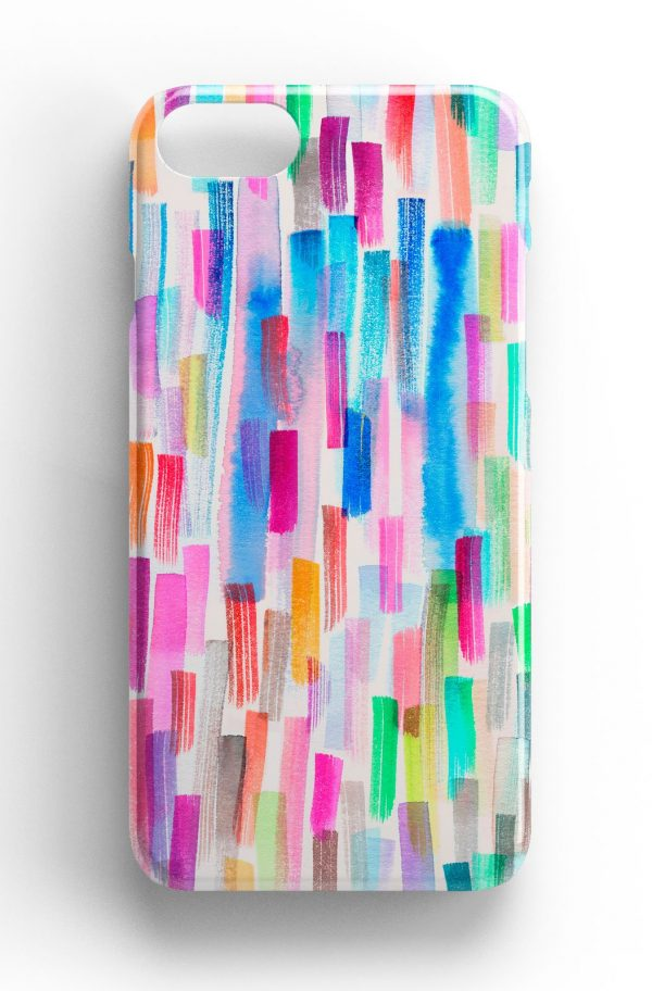 Ninola Design Colourful Brushstrokes Phone Case