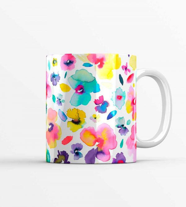 Tropical Flowers Mug