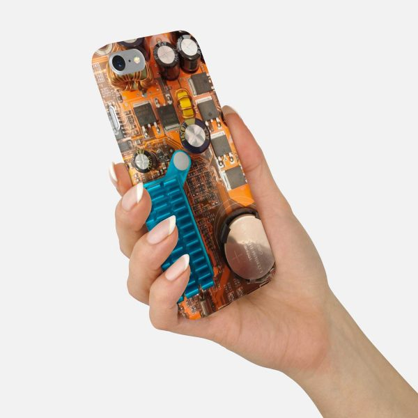 Circuit Board Phone Case - Motherboard
