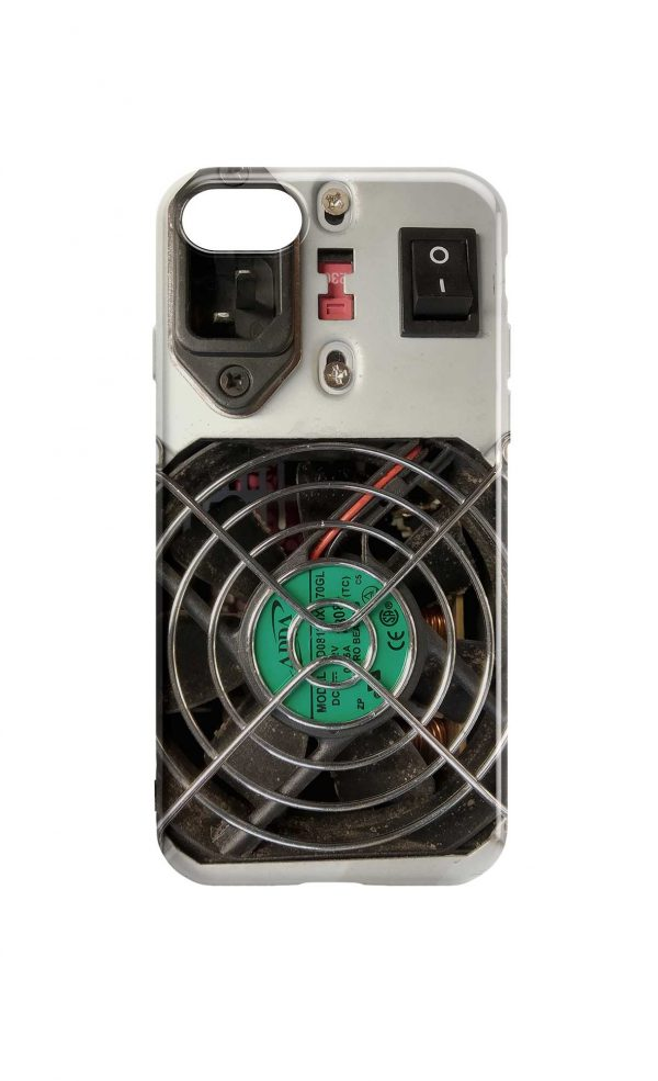 Circuit Board Phone Case - Computer PSU