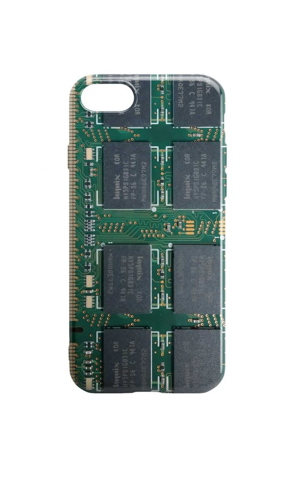 Circuit Board Phone Case - Chipset