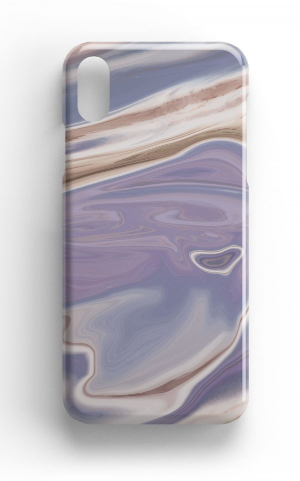 Agate Stone Purple/Mauve Design Phone Case