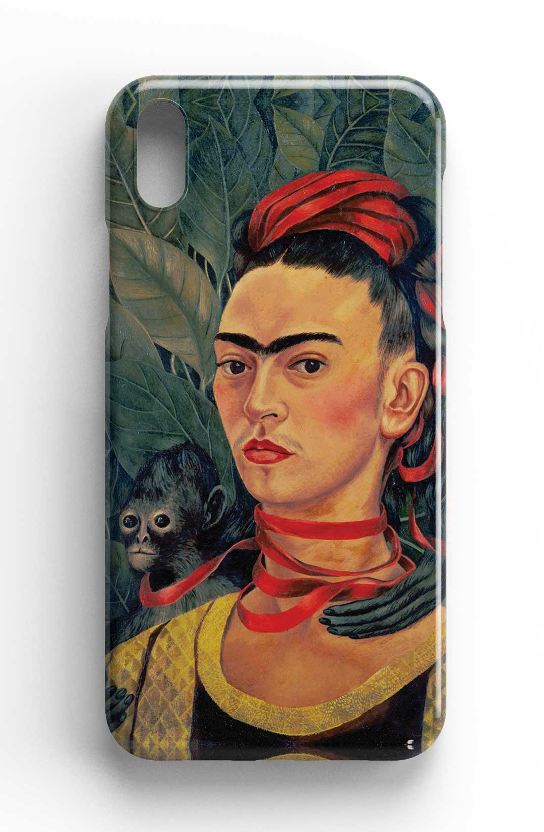 Frida Kahlo 'Self Portrait with Monkey' Phone case