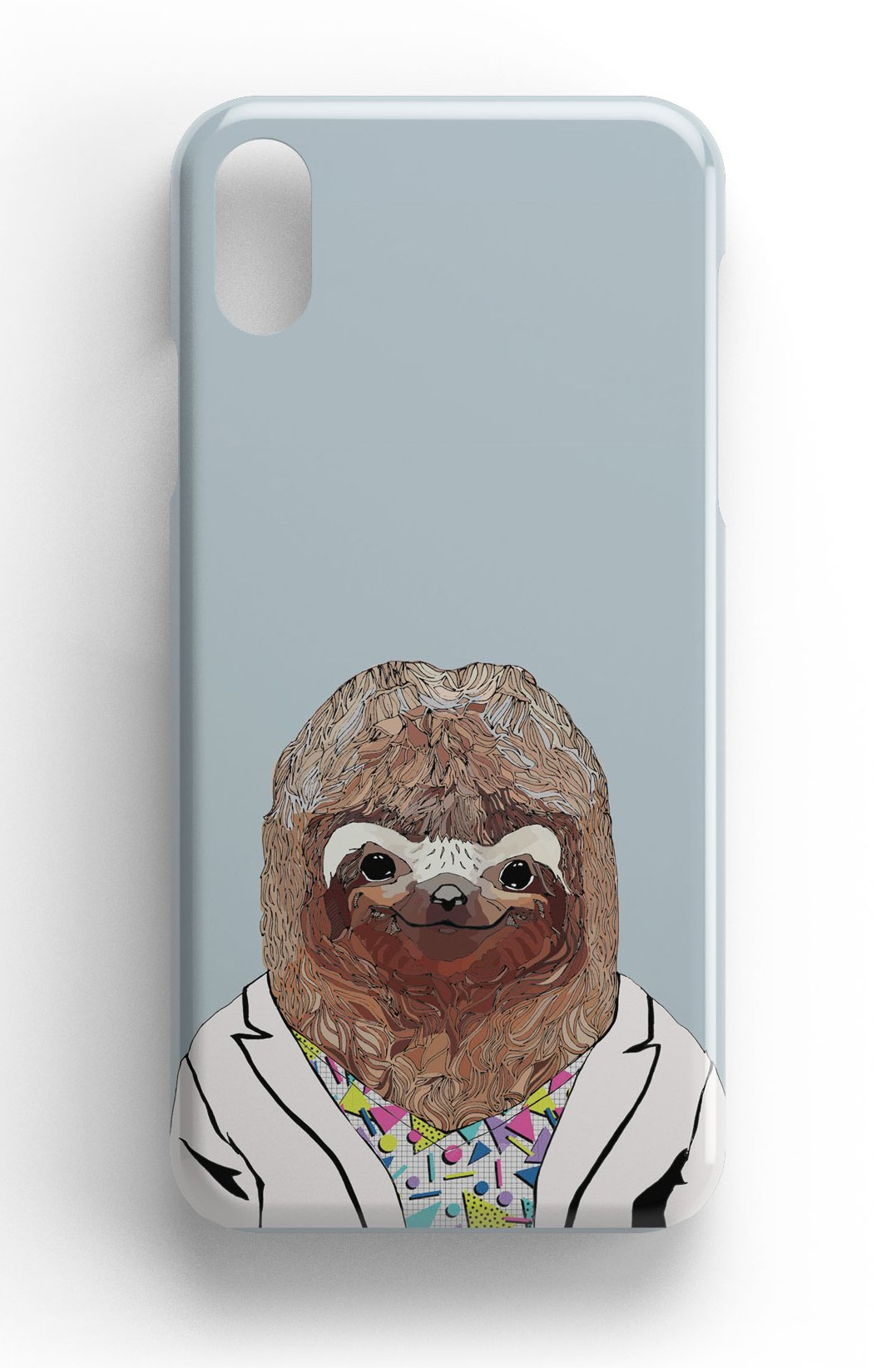"""Casey Rogers Illustrated Phone Case """"Sloth"""""""