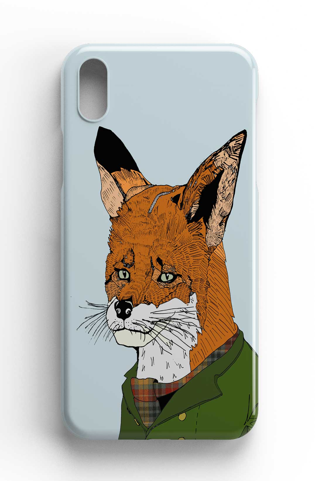 "Casey Rogers Illustrated Phone Case ""Snooty Fox"""