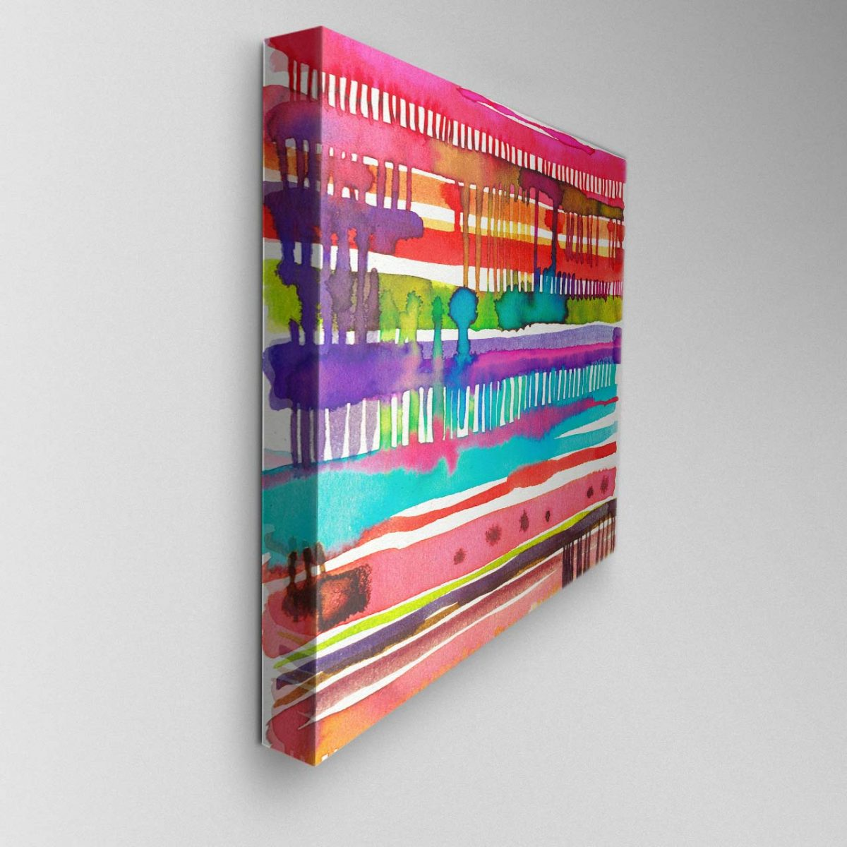 Watercolour Abstract Canvas Picture
