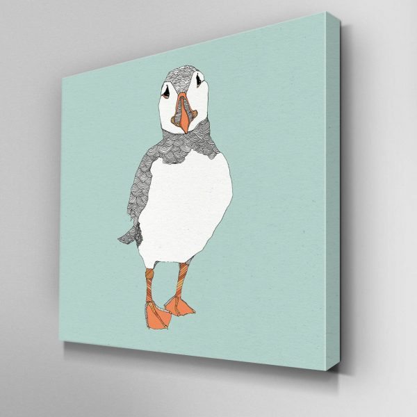 Puffin Dave Canvas Picture