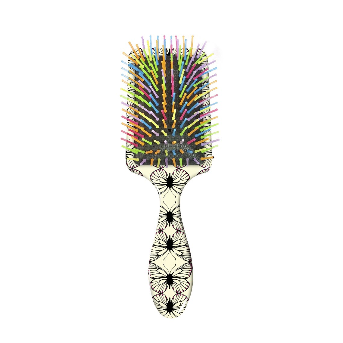 Butterfly Patterned Hair Brush - Personalised
